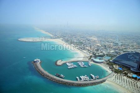 阿联酋迪拜俯瞰