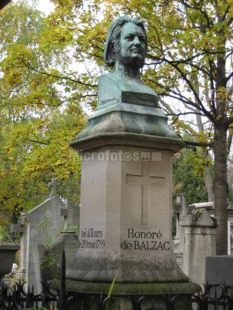 巴尔扎克墓碑
