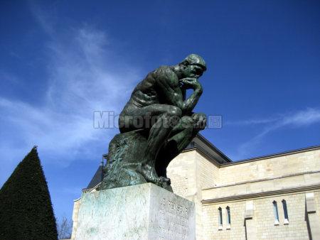 罗丹雕塑思想者