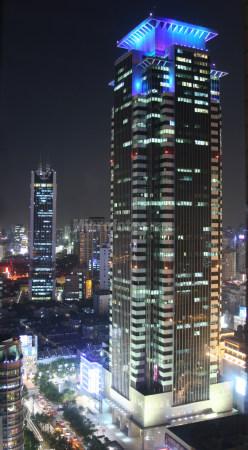 上海城市夜景