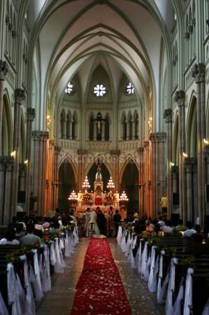 天主教堂婚禮