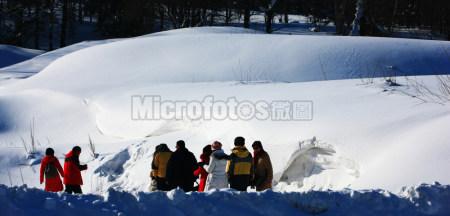 雪景 冰雪 冬季
