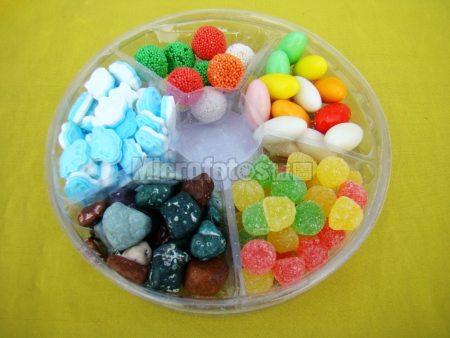 五顏六色的糖果