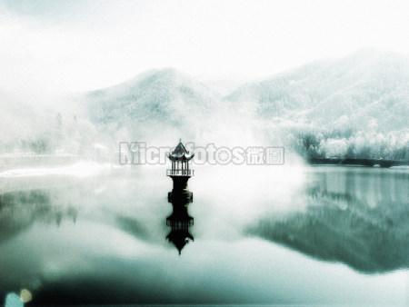 庐山芦林雪韵