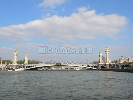 巴黎塞纳河亚历山大三世桥