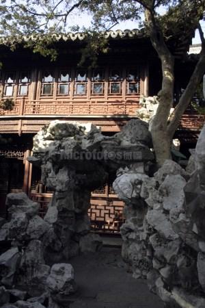 上海豫园的建筑