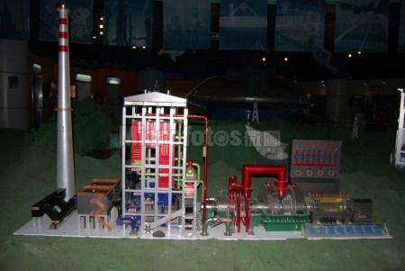 火力发电机模型