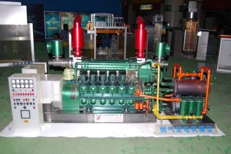 燃气发电机模型
