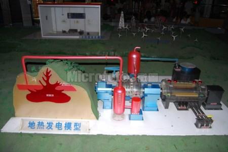 地热发电模型