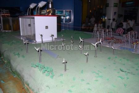 风力发电场模型