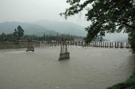 都江堰的夫妻桥