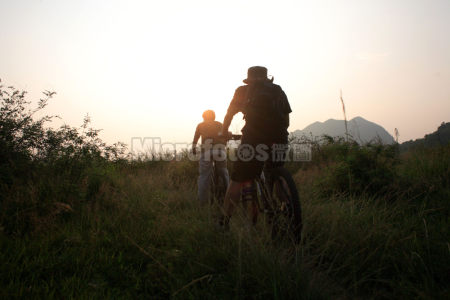 山地自行车爱好者