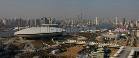 上海世博园全景