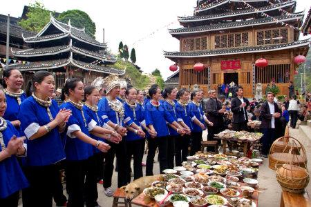 广西侗族百家宴