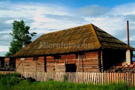 木头垛房子
