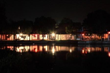 古镇西塘夜色