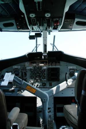 水上飞机驾驶舱