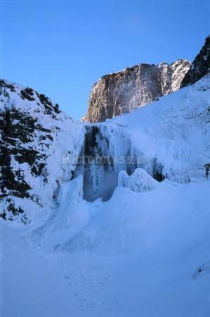 长白山冬景