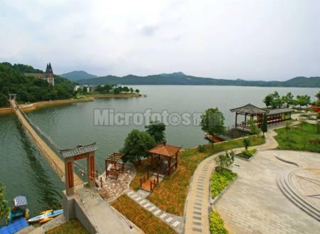 江西仙女湖爱情岛