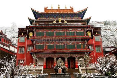 塔尔寺庙宇