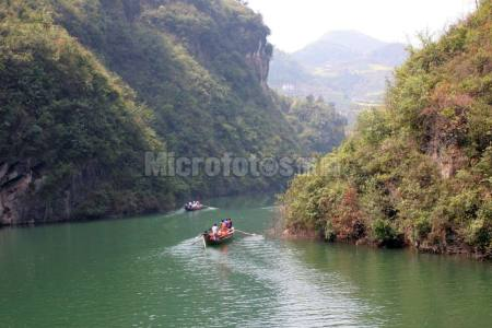 长江三峡神农溪风光