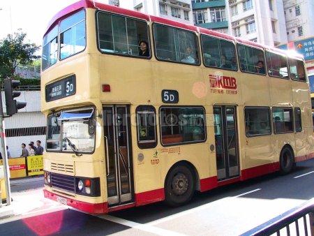 香港双层公共汽车。