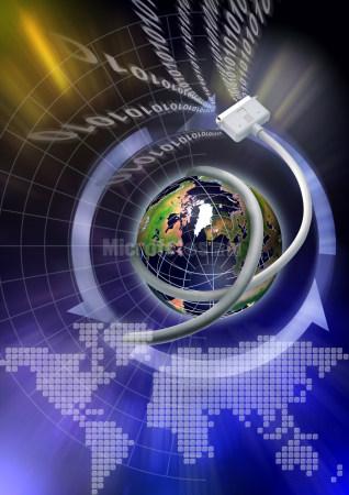 地球与互联网