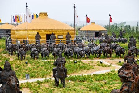 成吉思汗陵风景区