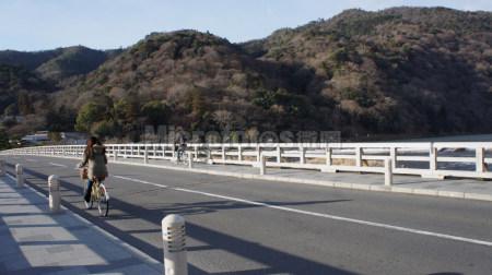 日本京都岚山大桥