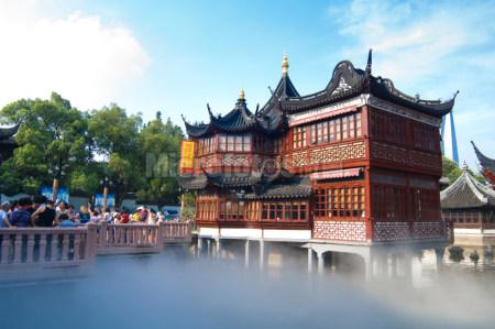 上海豫园湖心亭