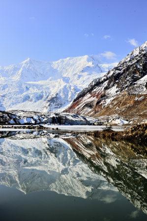 米堆冰川堰塞湖