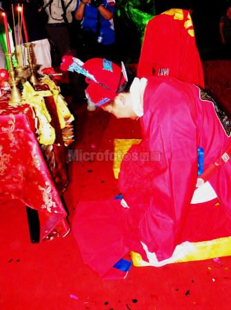 中國式婚禮拜天地