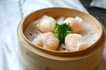 中餐早茶虾饺