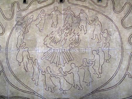 鄂温克石刻画