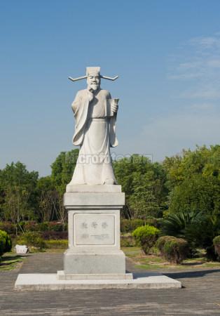 欧阳修雕塑