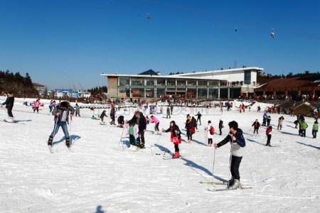 仙女山滑雪旅游