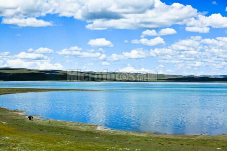 西藏措那湖