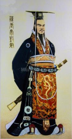 汉武帝刘彻画像
