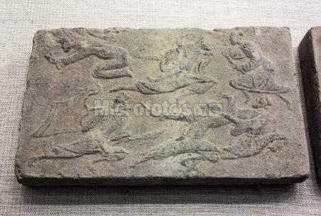 荆轲刺秦画像砖