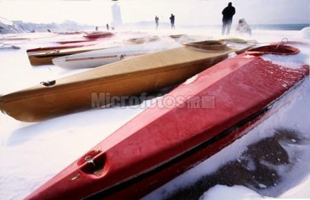 青岛海边赛艇