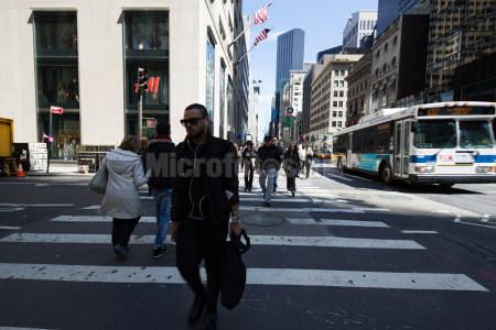 曼哈顿街头