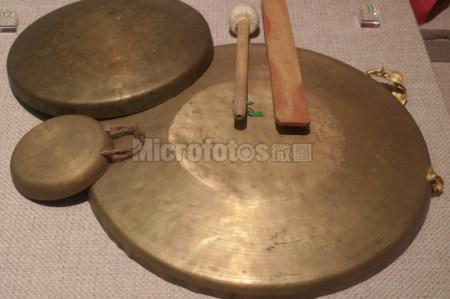 古代乐器铜锣