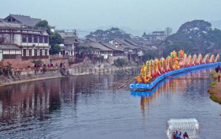 四川平乐古镇