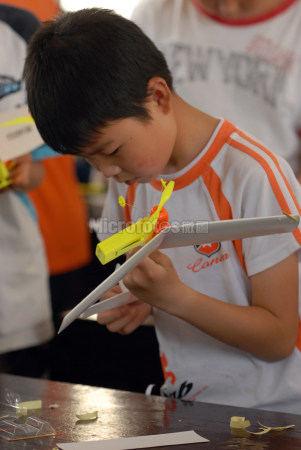 小学生航模比赛