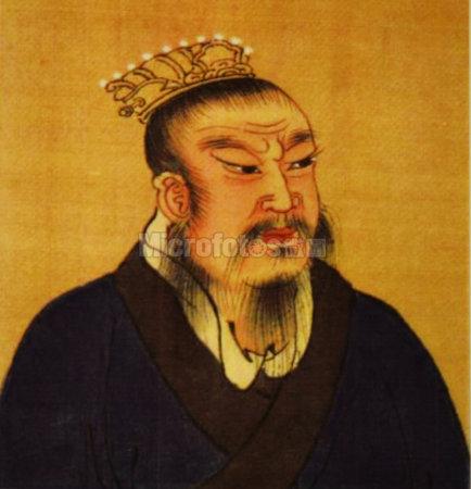 汉高祖刘邦画像