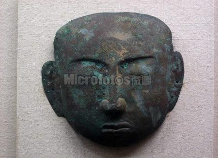 契丹人铜面具