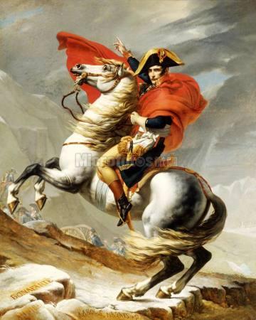 拿破仑油画