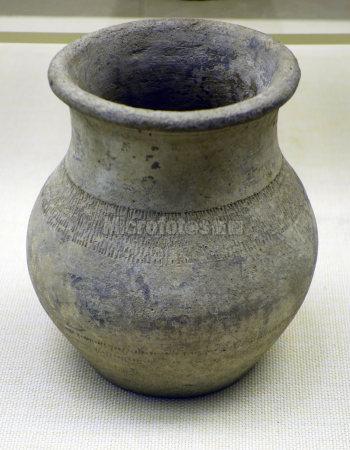 灰陶壶 鲜卑族