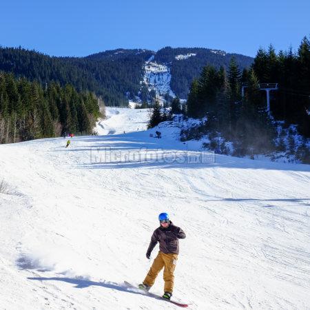 滑雪胜地惠斯勒