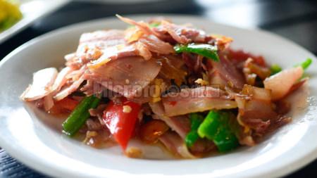 青椒老腊肉